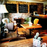 Beautiful eclectic interior. Original 50's, 60's & 70's Rockabilly and Danish furniture. Lovingl