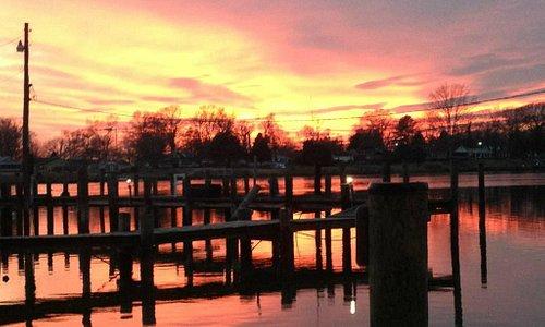 Enjoy The Sunset after Dinner