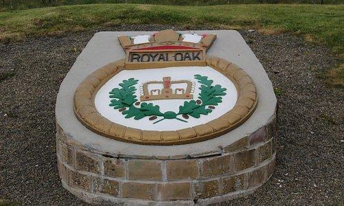 HMS Royal Oak Commemorative Plaque