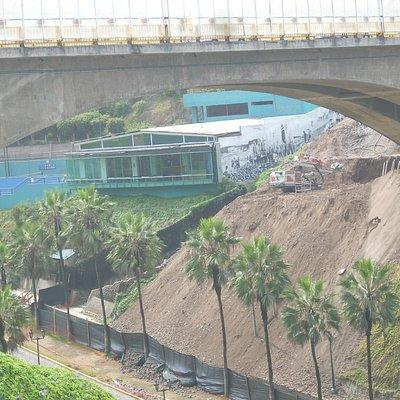 Frente del puente