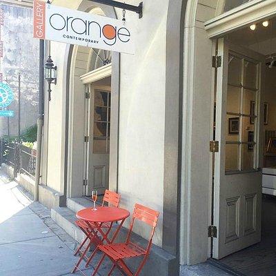 Gallery Orange on Royal Street