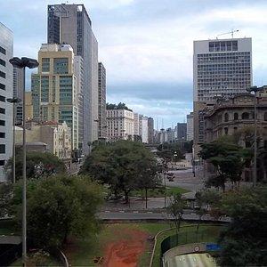 Panorama desde el Viaduto do Chá