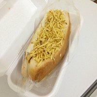 O hotdog de 20 cm