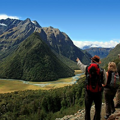 Routeburn Falls view point
