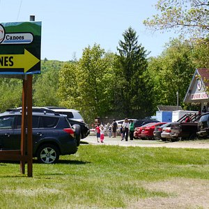 Entrance to the campgrounds