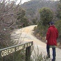 Start of Mt Oberon walk