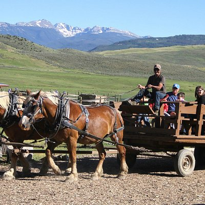 Western Family Night wagon rides.