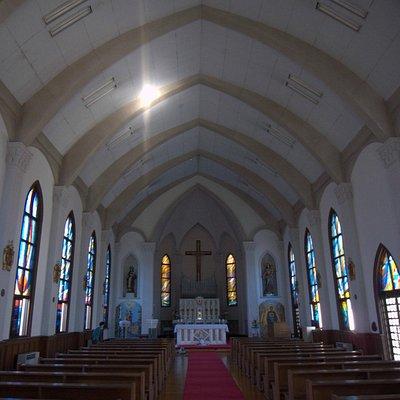天井に十字の光が見えてびっくり