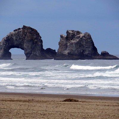 Twin Rocks off Rockaway Beach
