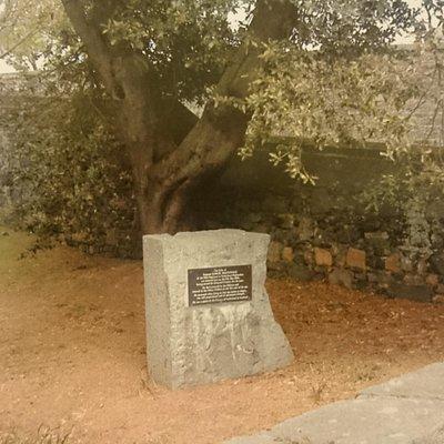 Sargeant Samuel MacDonald's grave.