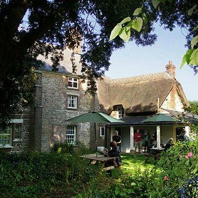 Garden view of Richard Jefferies Museum