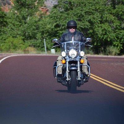 HD Road King, great bike