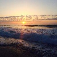 朝の平砂浦