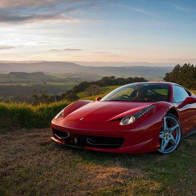 Prancing Horse Ferrari 458 Italia Driving Experience - Kiama NSW South Coast Sunset 2015