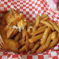 Sea Food Dinner Tilapia large $8.99