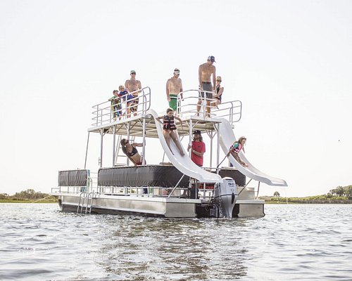 Party Barge at Shell Island