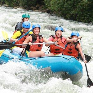 White Water Rafting Class 4