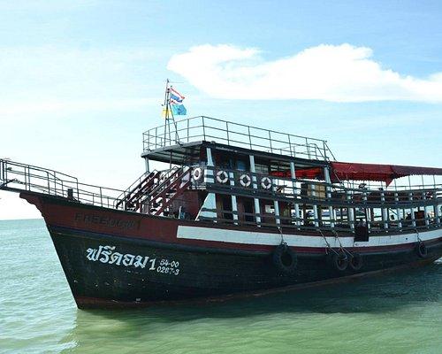 Our Fleet for every Saturday -Sunday Program Day Trip Koh Larn / Koh Sak and Night Fishing Trip