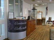 The new antiques centre upstairs at Newton Hall
