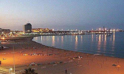 Playa de los Cárabos