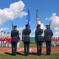 Opening Day pregame ceremony
