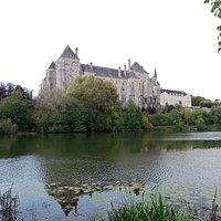 View across the Sarthe
