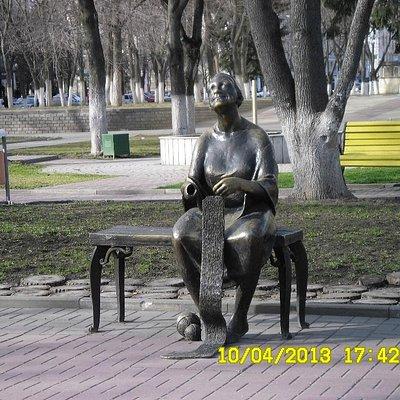 Скульптурная композиция Воспоминание