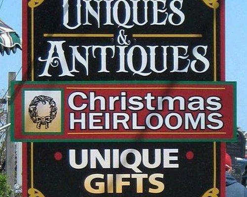 Uniques & Antiques Christmas Heirlooms