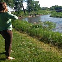 Lagoon Park - Chippewa River - Kayaking - Disc Golf - Camping - Hiking - Close to City Hall -