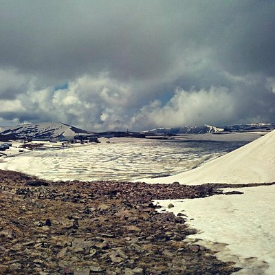 Kari Lake in June at Aragats Alpine State Sanctuary