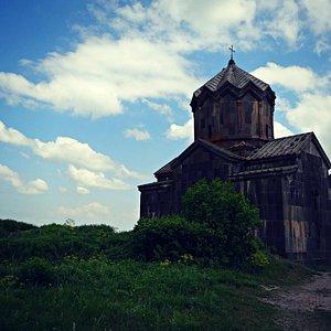 Vahramashen Church near Amberd Fortress