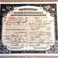1926 Dr Prescription for 16oz of Whiskey!