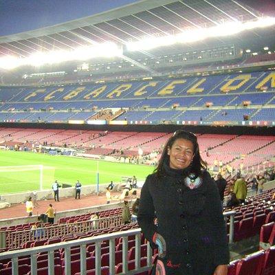 Visita privada ao Estadio do Barça