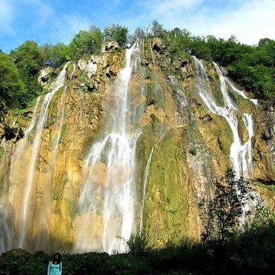 Плитвицкие озера. Большой водопад.
