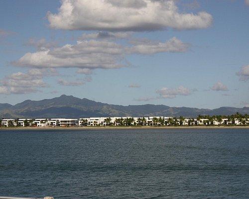 View of Nadi taken from boat