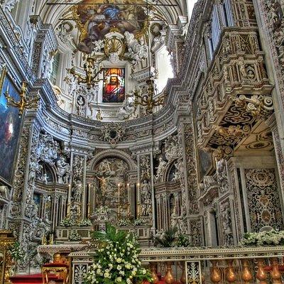 Casa Professa, altare maggiore.
