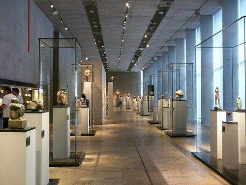 エジプト博物館内部