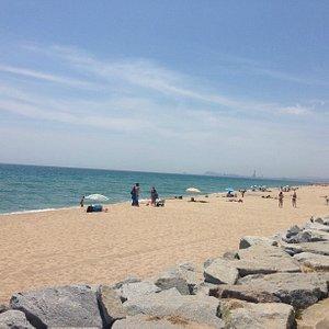 playa en junio