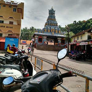 Entrance  to yogishwara  mutt