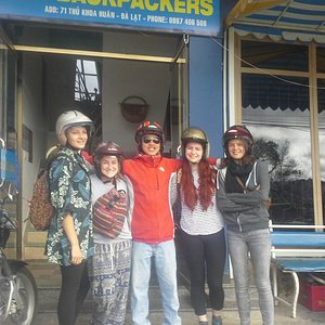 Starting from Smiley Backpackers Hostel, Da Lat
