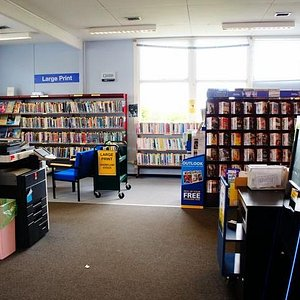 Inside Southchurch Library