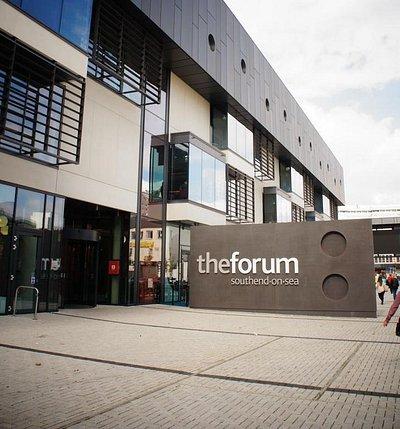 The Forum Southend main entrance
