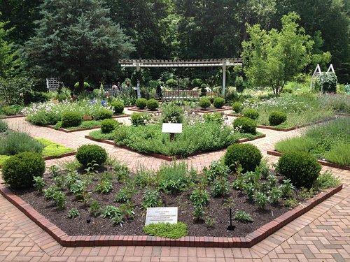 Herb Garden at State Botanical Gardens