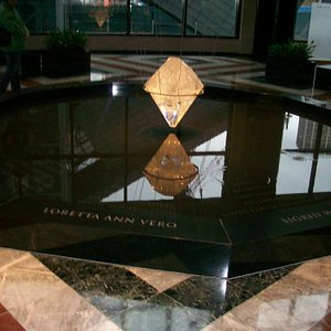 A view of the memorial