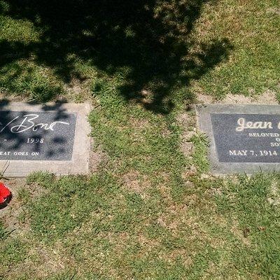 Sony Bono next to his Mother