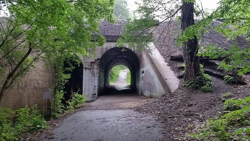 One of the bridges along the trail.