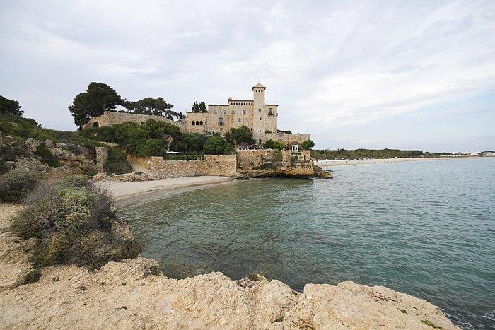 #altafulla 5 pasos de #altaburg paseo #romantico #playa #castillo #tamarit