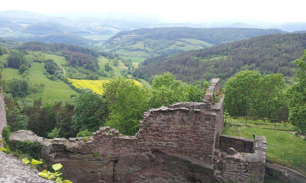 Hanstein, Blick Richtung Westen