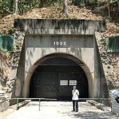 東(後)側の入口