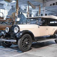 1924 Cadillac one of 75 preserved classic automobiles.